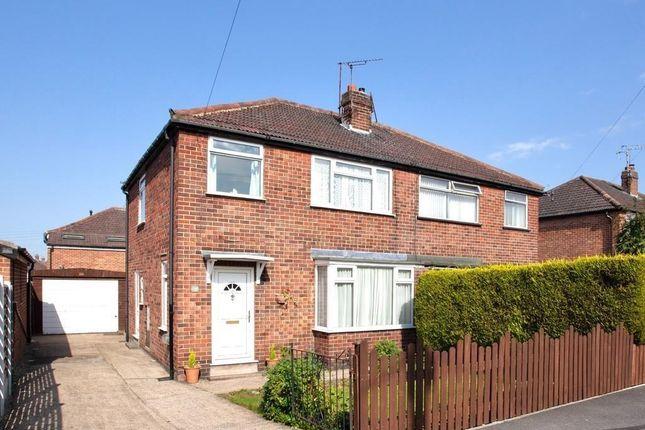 Thumbnail Semi-detached house to rent in Grosvenor Road, Harrogate