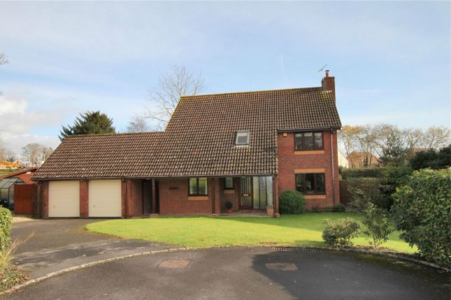 Thumbnail Detached house for sale in 4 Ravenscroft Gardens, Trowbridge, Wiltshire