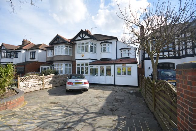 Thumbnail Semi-detached house for sale in Main Road, Gidea Park