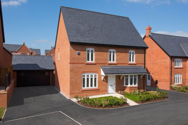 "Thumbnail Detached house for sale in ""Guilden"" at Tarporley Business Centre, Nantwich Road, Tarporley"