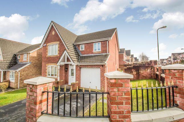 Thumbnail Detached house for sale in Burnet Drive, Pontllanfraith, Blackwood