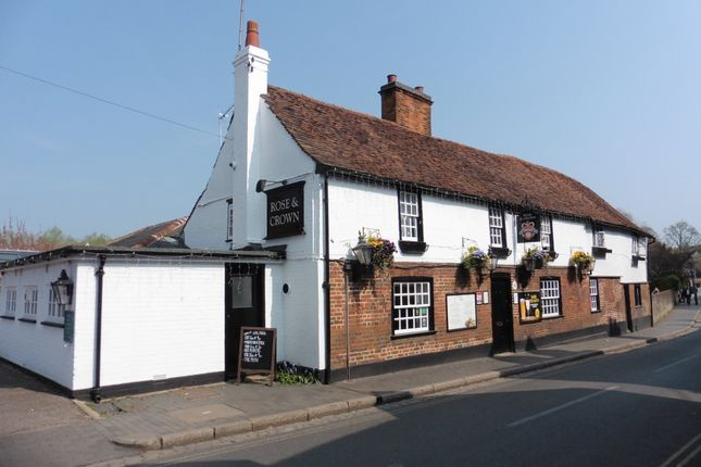 Thumbnail Pub/bar for sale in St Michael Street, St Albans