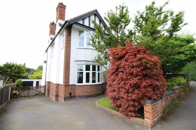 Thumbnail Detached house for sale in Devonshire Avenue, Allestree, Derby