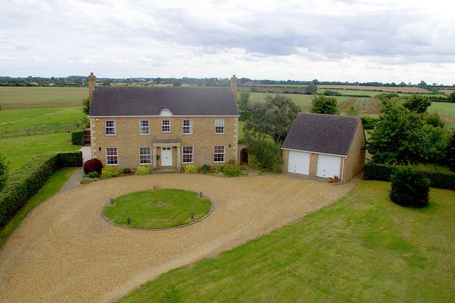 Thumbnail Detached house for sale in Higham Road, Stanwick, Wellingborough