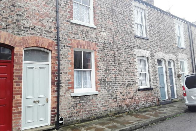 Thumbnail Terraced house to rent in Kyme Street, Bishophill, York