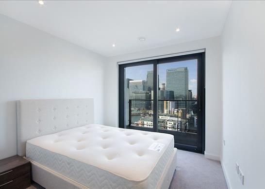 Bedroom of Horizons Tower, Nr Canary Wharf, London E14