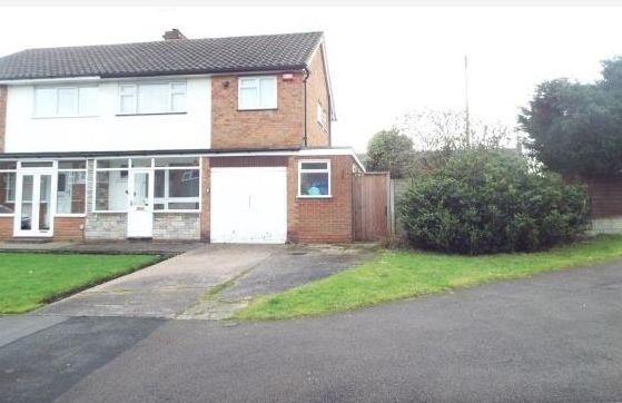 Thumbnail Semi-detached house to rent in Ipswich Crescent, Great Barr, Birmingham