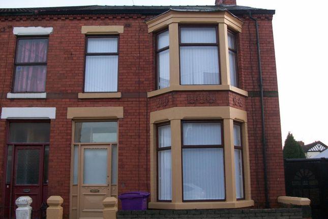 Thumbnail Terraced house to rent in Ashdale Road, Walton