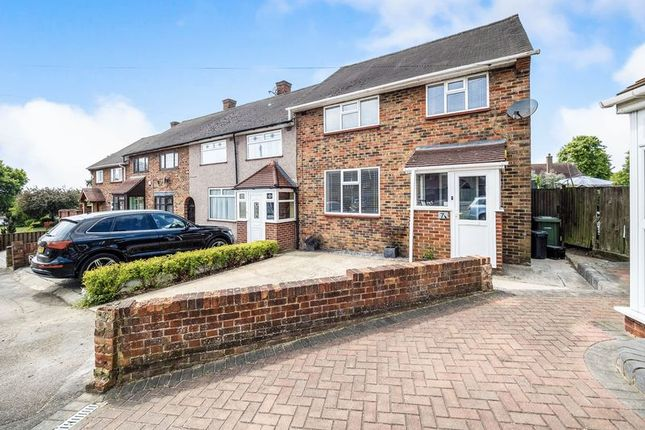 Thumbnail End terrace house for sale in Penrith Road, Romford