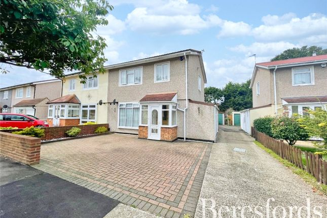 Thumbnail Semi-detached house for sale in Saunton Road, Hornchurch