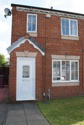 Thumbnail Semi-detached house to rent in Waterdale Grove, Weston Coyney, Stoke-On-Trent