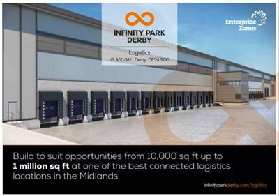 Thumbnail Land for sale in Infinity Park Phase I, (Chellaston Business Park), Wilmore Road, Sinfin, Derby, Derbyshire