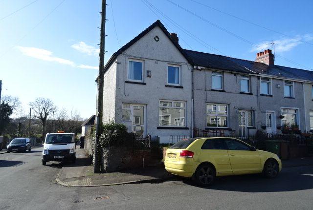 Thumbnail Terraced house to rent in Pendarren Street, Penpedairheol, Hengoed
