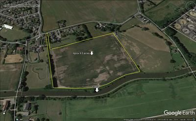 Thumbnail Land for sale in Land At Ivy Cottage Farm, Back Lane, Newburgh, Wigan
