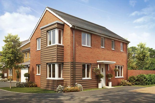 "Thumbnail Detached house for sale in ""The Clayton Corner"" at Goshawk Green, Leighton Buzzard"
