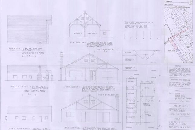 Full Plans of Manor Road, Little Easton, Dunmow CM6