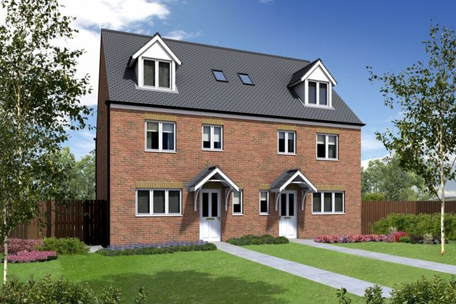 """Thumbnail Town house for sale in """"The Chatsworth"""" at Oakley Way, Rochdale"""