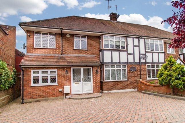 Thumbnail Semi-detached house for sale in Lyndhurst Rise, Chigwell