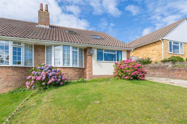 Thumbnail Semi-detached bungalow for sale in Churchill Road, Heathfield