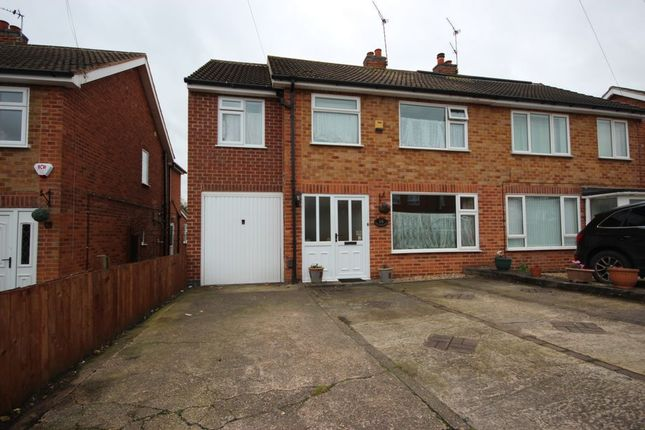 Thumbnail Semi-detached house for sale in Balladine Road, Anstey