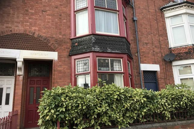 Thumbnail Terraced house to rent in Queens Road, Leicester
