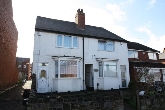 Thumbnail Semi-detached house to rent in Uplands Road, Birmingham