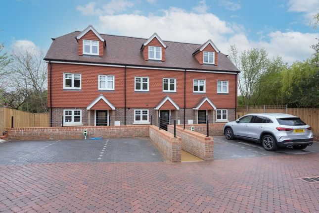 4 bed terraced house for sale in Cricketers Close, London Road, Bagshot GU19