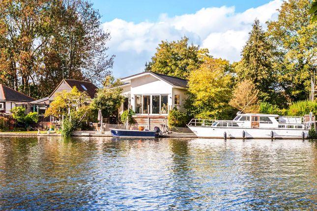 Thumbnail Detached house for sale in Wheatleys Eyot, Sunbury-On-Thames, Surrey