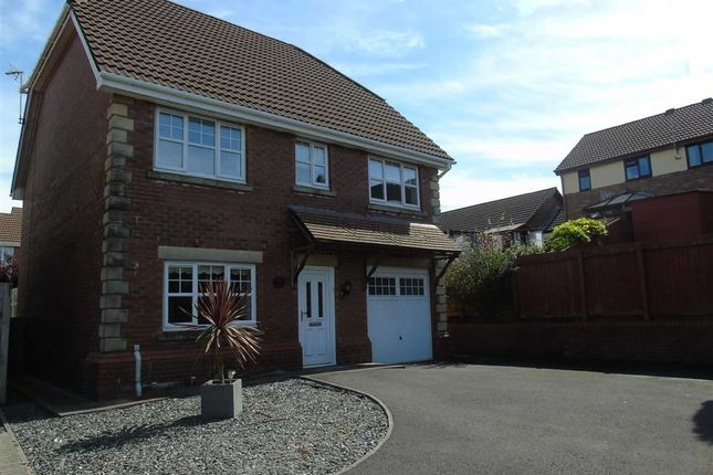 Thumbnail Detached house for sale in Maes Conwy, Pemberton, Llanelli