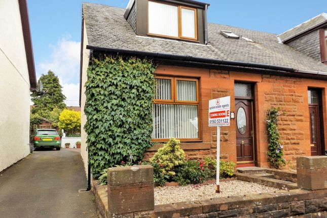 Thumbnail Semi-detached house for sale in Dundonald Road, Dreghorn