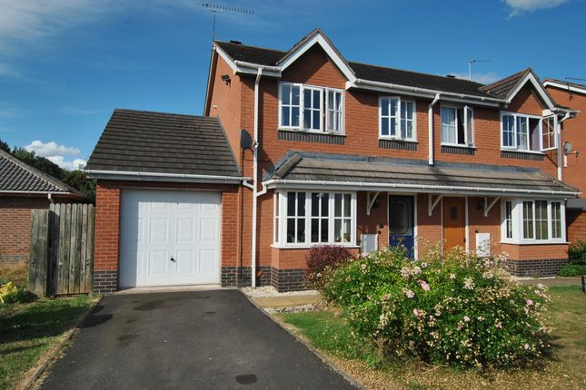 Thumbnail Semi-detached house for sale in Aldersley Way, Ruyton XI Towns, Shrewsbury, Shropshire