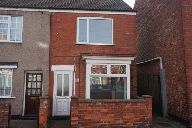 Thumbnail End terrace house to rent in Henry Street, Grimsby