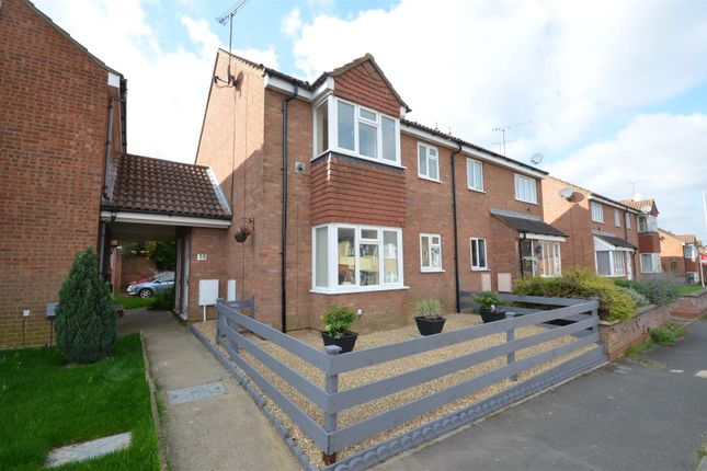Thumbnail End terrace house to rent in Mount Pleasant Road, Leagrave, Luton