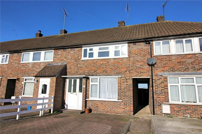 Thumbnail Terraced house to rent in Lemsford Court, Borehamwood, Hertfordshire