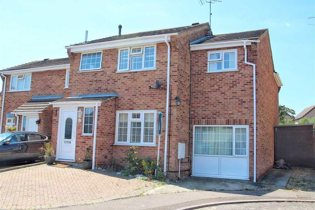 Thumbnail Semi-detached house for sale in Turnstone End, Colchester