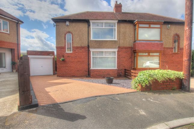 Thumbnail Semi-detached house to rent in Kenwood Gardens, Low Fell, Gateshead