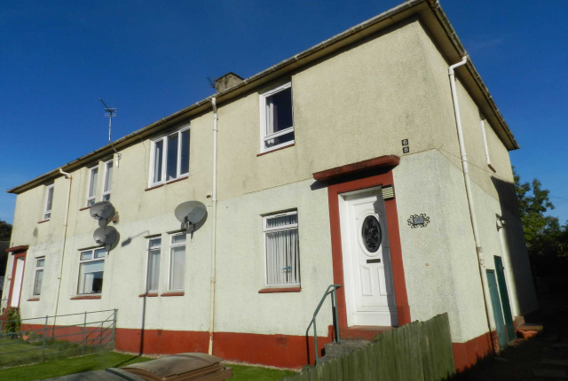 Thumbnail Flat to rent in Macbeth Road, Stewarton