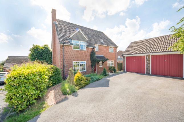 Thumbnail Detached house for sale in Hilltop Way, Salisbury