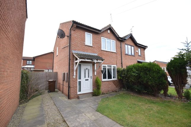 Thumbnail Semi-detached house to rent in Rose Farm Close, Altofts