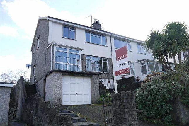 Thumbnail Semi-detached house for sale in Morfa Lodge, Porthmadog, Gwynedd