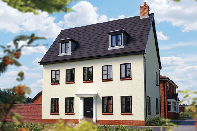 "Thumbnail Detached house for sale in ""The Warwick"" at Ashlawn Road, Rugby"