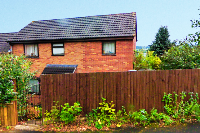Thumbnail Terraced house for sale in Kerrison Drive, Welshpool, Powys