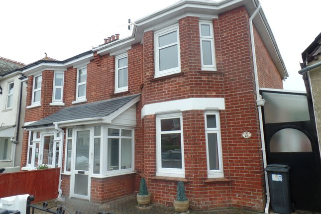 Thumbnail Semi-detached house to rent in Madison Avenue, Bournemouth