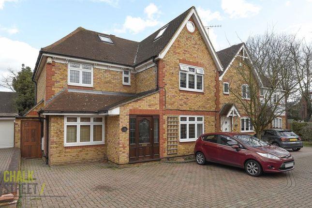 Thumbnail Detached house for sale in Pinecroft, Gidea Park