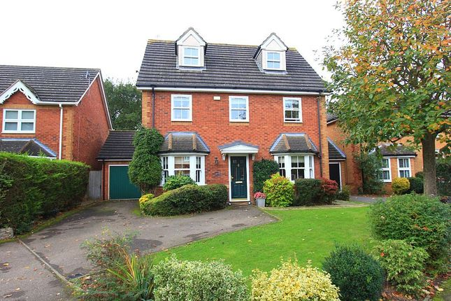 Thumbnail Detached house for sale in Forest Glade, Basildon, Langdon Hills, Essex