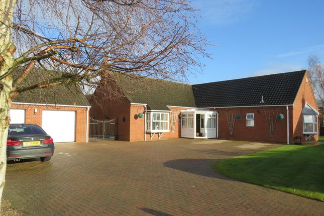 Thumbnail Detached bungalow for sale in Hillgate Street, Terrington St. Clement, King's Lynn