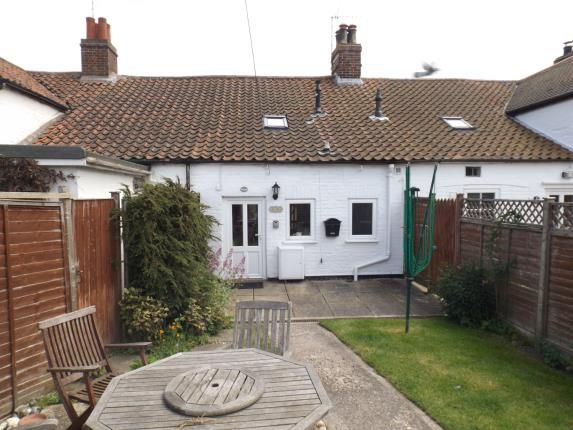 Thumbnail Terraced house for sale in Victoria Road, Mundesley, Norwich
