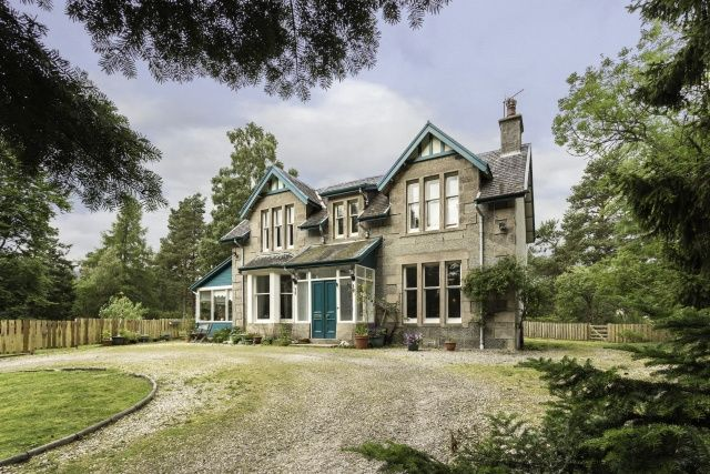 Thumbnail Detached house for sale in Station Road, Newtonmore, Highland