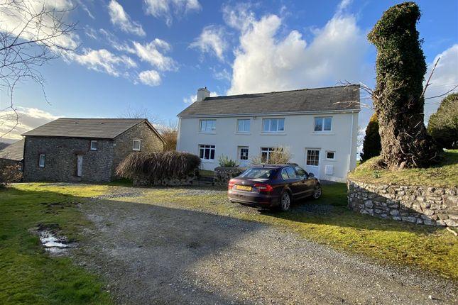 Thumbnail Farm for sale in Gwynfe Road, Ffairfach, Llandeilo