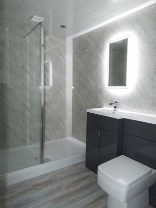 Shower Room of Rs Apartments, Hubert Road, Selly Oak, Birmingham B29